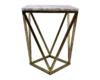 GOLDEN IRON SIDE TABLE